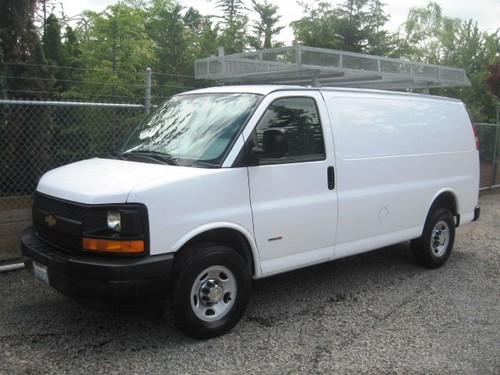 Cargo Van With Duramax Diesel Engine For Sale In Usa